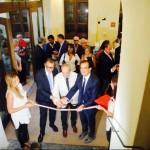 Da sx il presidente Guglielmo, il maestro Amendola e il presidente della provincia di Catanzaro Bruno
