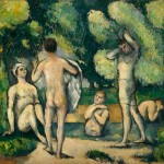 Paul Cézanne - Bagnanti.