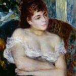 Pierre-Auguste Renoir - Donna in poltrona