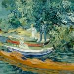 Vincent WIllem van Gogh - Sponda dell'Oise ad Auvers