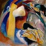 Wassily Kandinsky - Studio per dipinto con forma bianca