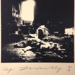 Robert Rauschenberg combine material Fulton St. Studio1954_Cy Twombly_ CourtesyFondazione Nicola Del Roscio