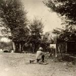 Giuseppe Pellizza al lavoro (1904)