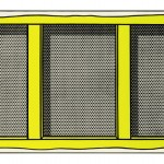 Roy Lichtenstein, Stretcher Frame with Vertical Bar, 1968