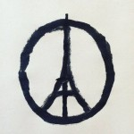 Banksy, Peace for Paris