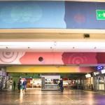 Corn79 + ETNIK per Il Cerchio E Le Gocce, Destinazioni, Autostazione di Bologna, 2016, ph @Rosy Dennetta