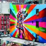 Dipinto murale, New York 2012