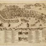 Bologna (Panorama de Bologne), Cherbuin L. inc., Mazzola J. dis., acquatinta, 22,5 x 90 cm, 1855 ca. Sergio Trippini Studio Bibliografico Gavirate (Varese)