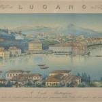Corrodi Salomon, Lugano, acquatinta, 175 x 243 mm, 1829-1835 Collezione privata