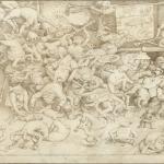 Pieter Bruegel Il Vecchio, Sint-Jacob en de val van de tovenaar, 1565