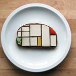 Mondrian, sandwich