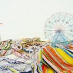 Takahiro Iwasaki Out of disorder (Coney Island), 2012 teli da mare