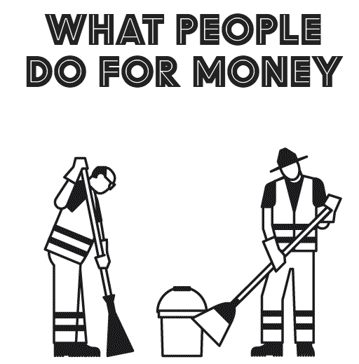 What people do for money