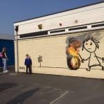 Banksy, scuola Bristol