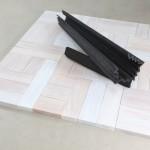 2010_senza titolo_pigmento e combustione su legno_cm 71x250x250