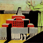 ALDO ROSSI Architettura con santo, 1972, courtesy Fondazione MAXXI