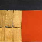 Alberto-Burri-Black-Red-Wood-1960