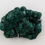 Giovanni Kronenberg, untitled 2016, malachite, photo Sebastiano Luciano