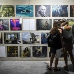 Annie Leibovitz. Women, New Portraits, commissioned by UBS, Fabbrica Orobia 15, 9 September - 2 October 2016, photo Matteo Valle/Getty