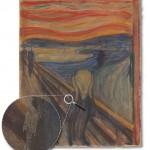 """Edvard Munch's """"Der Schrei der Natur"""" (""""The Scream"""") (1893) (all photos courtesy University of Antwerp)"""