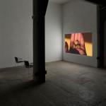 Tris Vonna-Michell Perforations II (Wasteful Illuminations), 2016 Archival inkjet print, three Japanese phone cards, digital projection 54.5 x 109 cm
