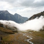 Armin Linke, Moving cloud, Aosta Italy, 2000