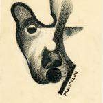 E.Prampolini, Ritratto di Giacomo Balla, 1929_Collezione privata,Roma