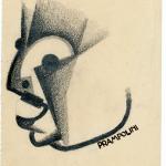 E.Prampolini, Ritratto di Marinetti, 1929_Collezione privata,Roma