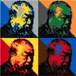 AI Weiwei, Self Portrait