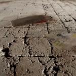 dettaglio opera in cemento