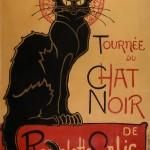 Théophile Alexandre Steinlen, Tournée du Chat Noir de Rodolphe Salis (Tour of Rodolphe Salis' Chat Noir)