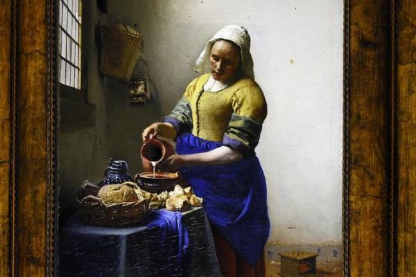 Vermeer, La Lattaia