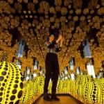 Yayoi Kusama installazione