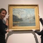 Gustave Courbet, Vue du Lac Léman