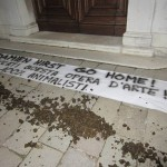 Damien Hirst proteste animalisti