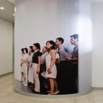 Lara Favaretto, Una delle tante, 1999-2007 Installazione fotografica (fotografie di Armin Linke)