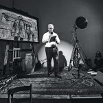 William Kentridge at his art foundation in South Africa (Photo: Stella Olivier)