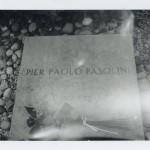 Patti Smith, Pier Paolo Pasolini's grave, Giulia, Italy, 2015, Gelatin silver print, edition of 10, 8 X 10 in (20.3 X 25.4 cm)