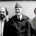 © Maria Mulas_Allen Ginsberg_Lawrence Ferlinghetti_Andrej Voznesenskij_1982