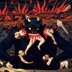 The Devil, pp. 138-139, Richard Phillips, Hell, 2007, Particolare, Olio su tela, 368 x 290 cm | Credito fotografico: Courtesy of Gagosian Gallery, Roma