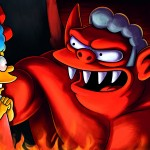The Devil, pp. 28-29, Fotogramma dalla XXIII edizione annuale degli episodi Treehouse of Horror della serie The Simpsons, 7 ottobre 2012   Credito fotografico: © FOX via Getty Images