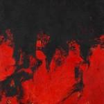 Maria Pacheco Cibils - Rosso Evoluzione - 2017 olio su tela