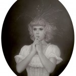 DCG Travis Louie_Ghost of Laura From The Reeds_41x51 cm (16x20)_Acrylic on board