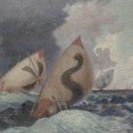 Chatelain, Tempesta sull'Adriatico