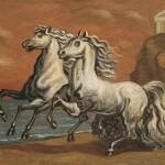 de Chirico, Due Cavalli in riva al mare