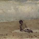 Francesco Paolo Michetti, Figura sulla Spiaggia 1872