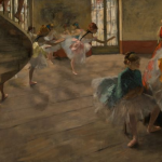 Degas, the Rehealsal