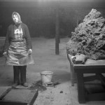 1. John Myers_Female brick worker, William Mobberley Brickworks, Kingswinford, 1983
