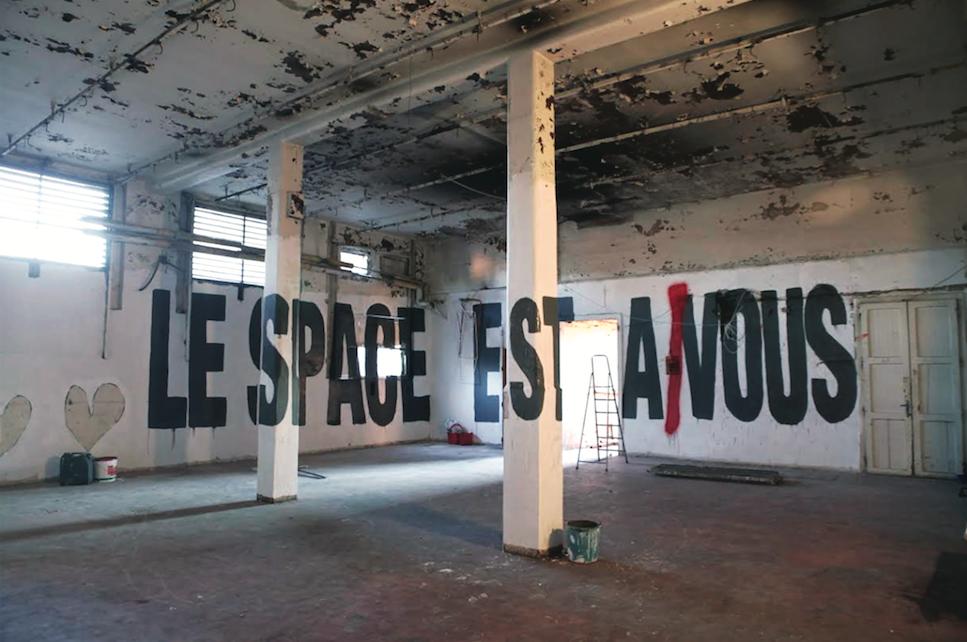 Gregorio Pampinella, Le space est a nous