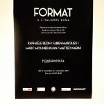 Format à l'italienne, opening